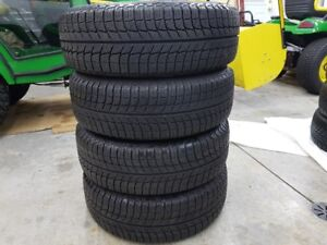 MICHELIN X-ICE 195/65r15 WINTER TIRES and RIMS