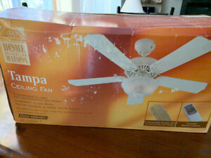 Tampa Ceiling Fan with light