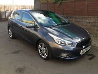 2013 (13) Kia ceed 1.6 GDI 16v DCT 2012MY 4 Tech 5 Door Hatchback Automatic