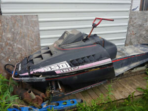 FREE snowmobile for parts text 780-882-0705