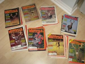 Deer Hunting magazines for sale
