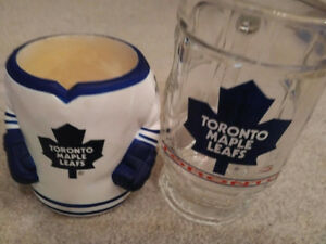 TORONTO MAPLE LEAFS NEW Beer Mug and Insulation sleeve