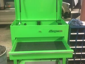 Like new snap on roll cart