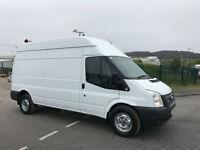 62 2012 Ford Transit 2.2TDCi 125PS EU5 RWD 350 LWB H/ROOF - NO VAT TO PAY