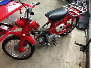 Honda CT90,1969, club trail, moto antique