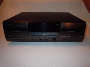 Cassette Deck Double, Kenwood, CT203