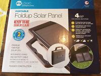 12v 4WP Portable Foldup Solar Panel Power Car Battery Trickle Charger