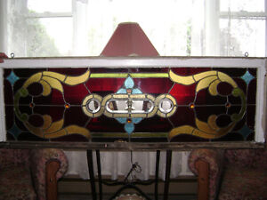Large Stained Glass Winndow