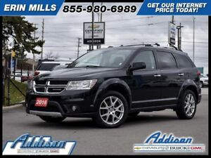 2016 Dodge Journey R/T - Leather Seats -  Bluetooth