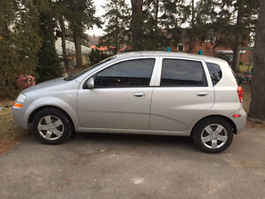 2007 Chevrolet Aveo Sedan great condition must come see