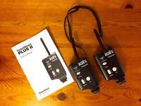 2x Pocket Wizard Plus II Transceivers