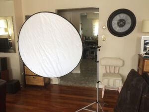 """42"""" Photo Reflector 5in1 with reflector holder"""