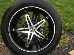 """20"""" Toyo Tires with mags"""