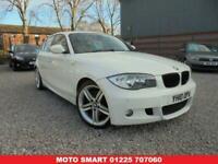 2010 10 BMW 1 SERIES 2.0 123D M SPORT 5D 202 BHP DIESEL