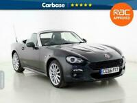 2016 Fiat 124 Spider 1.4 Multiair Lusso 2dr CONVERTIBLE Petrol Manual