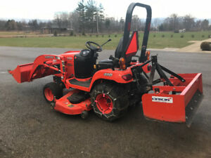 2012 Kubota BX2660 Tractor - Front Loader - Mower - LOW HOURS