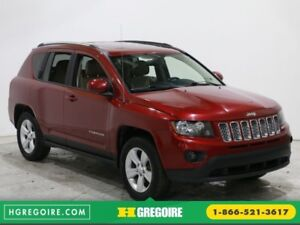 2015 Jeep Compass NORTH 4X4 AUTO A/C TOIT CUIR BLUETOOTH MAGS