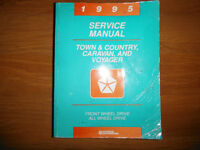 1995 Caravan Town & Country Voyager Repair Manual inc AWD