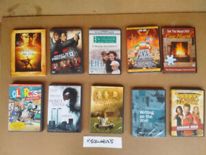 10 miscellaneous DVD's