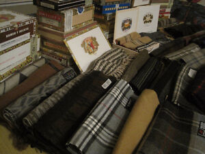CIGAR BOX SCARVES - IDEAL XMAS GIFT FOR HIM