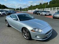 2006 56 JAGUAR XK 4.2 COUPE V8 Auto Silver with Black leather & 20-inch wheels