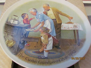Mint condition 1982 collectors plate.