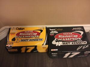 Matt Kenseth 1/24 (pair) of championship die cast cars