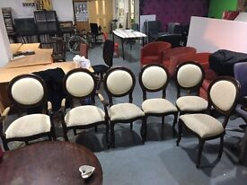 Set of 6 Spoon-back Dining chairs