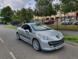 Peugeot 207cc convertible Turbo. Fully loaded