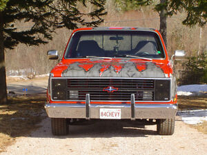 1984 chevy Scottsdale LT1 350 custom paint