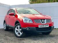 2009 Nissan Qashqai 1.6 Tekna 5dr TOWBAR SUV Petrol Manual