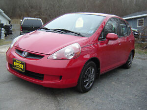 2007 Honda Fit Hatchback