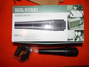 Microphones, 2 Digital Reference for instrument use