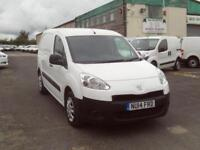 Peugeot Partner 850 S 1.6HDI 92ps DIESEL MANUAL WHITE (2014)