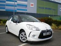 Citroen DS3 1.6HDi 90 ( 99g ) DStyle 3dr * £20 TAX A YEAR * FULL SERVICE HISTROY