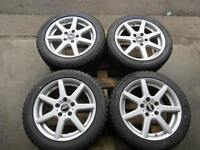 JDM BBS Rims,  205/50/16 215/45/16 Winter Tires, Blizzak 5X114.3