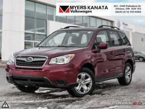 2016 Subaru Forester 2.5i  -  Bluetooth -  Heated Seats - $145.7