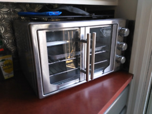 Oster french door convection oven