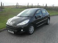 Peugeot 207 1.4HDi 70 FAP Active Reg 23/3/12 MOT 22/5/19 58733 Mls £20 Tax