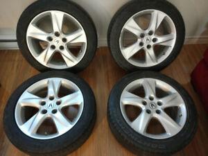 Jantes, Rims plus TPMS Acura TSX 2009-2013