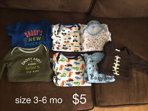 various baby boys, size 3-6 month
