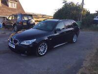 07 BMW 520d MSPORT TOURING AUTO