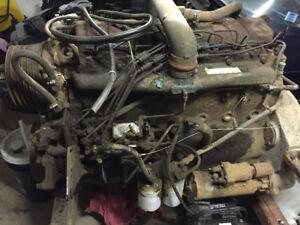6 cylinder diesel DT466