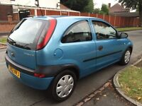 VAUXHALL CORSA CLUB 12 MONTHS MOT EXCELLENT FOR FIRST TIME BUYERS