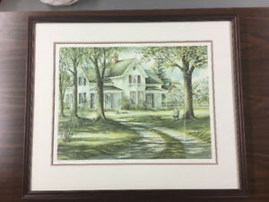 Trisha Romance 1985 Shady Lane Limited Edition Print 489/750