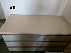 Various dressers. - all sold pending pick up