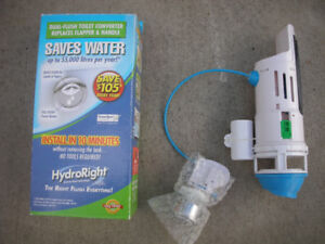 HydroRight Dual Flush Valve with Lever Handle