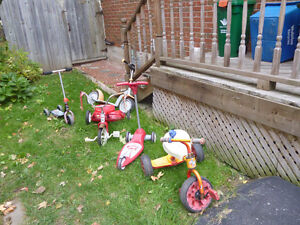 Various Tricycles and Scooters Kitchener / Waterloo Kitchener Area image 1