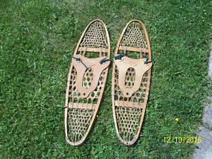 Vintage Hand Made Snow Shoes
