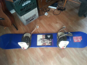 M3 Board with Burton Bindings